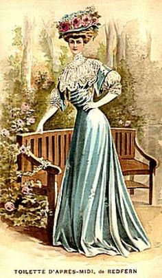 1907 The rose garden gown