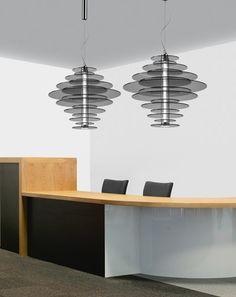 'Rondelle Suspension Light by Leucos. @2Modern'