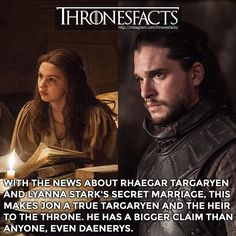 Game Of Thrones Facts ~ Many people didn't catch this, but here it is because it is extremely important.