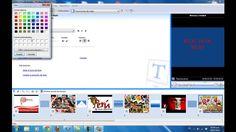 Aqui traigo otro video de como utilizar el tan famoso windows movie maker