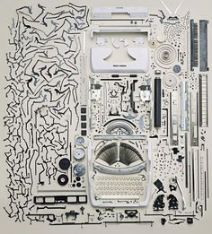 Things Come Apart: A Teardown Manual for Modern Living a new book by Toronto photographer Todd McLellan, who's disassembled everything from bicycle to smartphones.     Here a selection from McLellan's new book: Things