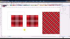 Criando um Preenchimento Padrão, Pattern Fill, no Corel Draw X6