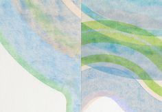"""Serif"" by Erik Barthels. Watercolor on paper."
