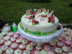 Torta de chinitas para niña