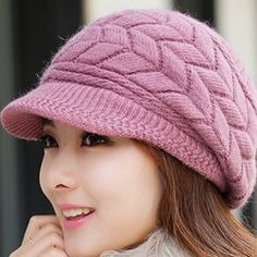 Latest Winter Caps For Indian And pakistani Girls Winter Hats For Women 4ec95517f50
