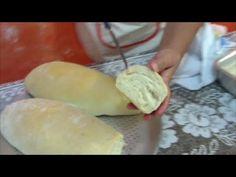 Pão francês especial caseiro verdadeiro (pão de sal).