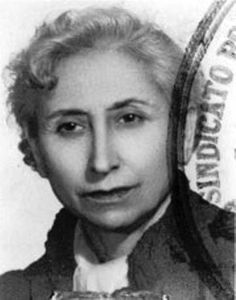 Lucía Sánchez Saornil, a Spanish anarcha-feminist. She was one of the founders of Mujeres Libres (Free Women), an anarchist organization that fought for equal rights for women in 1930s Spain. She was also a prominent poet and wrote often under a male pseudonym which gave her the freedom to explore taboo themes like homosexuality, which was illegal at the time. Being both an anarchist and a lesbian, she was forced to spend her later years more or less in hiding and had to relocate every few…