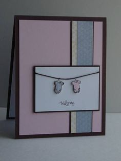 PPA48 - Welcome twins by jentimko - Cards and Paper Crafts at Splitcoaststampers