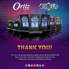 Thank you Everyone for Visiting Ortiz Gaming at #OIGA2015 .. We hope to see you at #G2E #OrtizGaming