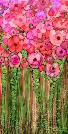 Wild Poppy Garden Pink