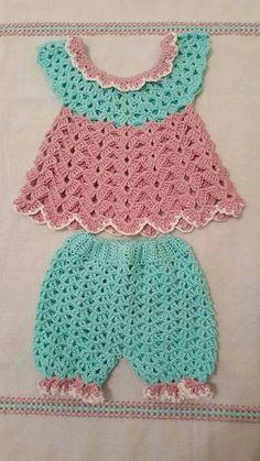 3-12 Months Crochet Baby Layer