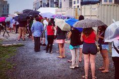 Hundreds Line Up for Brooklyn's Ramen Burger