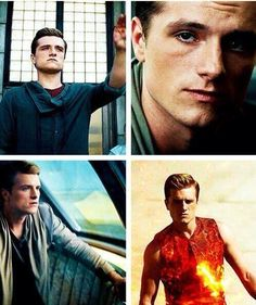 Peeta Mellark in Catching Fire
