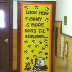 End of school year bulletin board idea.
