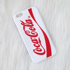 ❤️SALE❤️ red and white Coca-Cola iPhone 6/6s case •iPhone 6/6s phone case  •hard plastic   •new never used. has a small faint mark on the back   •no trades  🚫 price is pretty FIRM  ❗️ all sales are FINAL  item #: 5 Ashley's Boutique Accessories Phone Cases