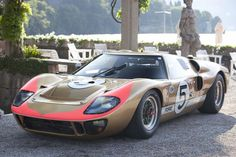 Ford, GT40 MkII, Coupé, FAV, 1965