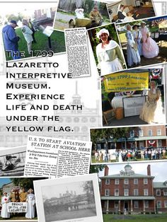 The history of the 1799 Lazaretto In Essington, PA is presented by volunteer living historians.