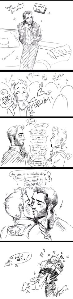 While you weren't quite sleeping Sterek Part 2/2