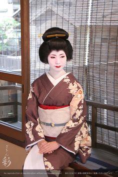 お座敷スタジオにて。芸妓姿で撮影 #Maiko #Geiko #Kyoto