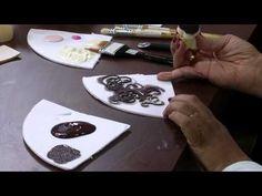 Mulher.com 18/10/2013 Cleo Squarizi - Decorativa com pérolas - YouTube