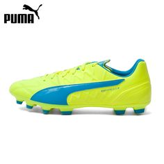 (86.66$)  Watch now - http://ai9hp.worlditems.win/all/product.php?id=32648235315 - Original New Arrival  Puma evoSPEED 3.4 Lth AG Men's Soccer Shoes Sneakers