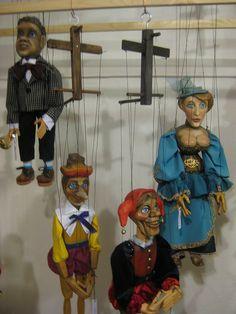 antique marionettes