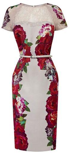 ooooooooooooh. I'm in love with this floral dress