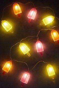 Popsicle String Lights