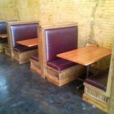 Restaurant booths!!