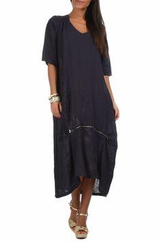 Купить Платье Un coeur en ete FLORINE_MARINE NAVY со скидкой в интернет-магазине kupivip.ru - распродажа