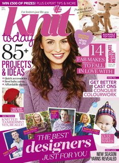 Get your digital subscription/issue of Knit Today-February 2015 Magazine on Magzter and enjoy reading the magazine on iPad, iPhone, Android devices and the web. Vogue Knitting, Knitting Books, Crochet Books, Knitting For Kids, Vintage Knitting, Baby Knitting Patterns, Free Knitting, Creative Knitting, Bear Patterns