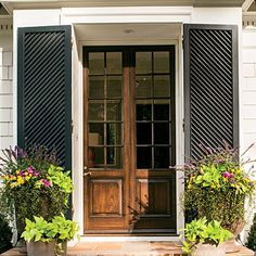 Notice the Details: A Generous Entry - Charming Cottage Curb Appeal Makeover - Southern Living