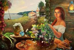 Медовый Спас в Свияжске, автор Елена Острая. Артклуб Gallerix