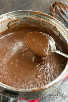 Chocolate Frosting with Cocoa Powder and Powdered sugar-This is a simple chocolate frosting recipe that you'll use over and over again. Chocolate Frosting with Cocoa Powder and Powdered Sugar is ready in minutes with ingredients your more-than-likely have on hand.