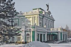 Omsk,Russia / Omsk es una ciudad al sureste de Siberia en Rusia, capital del óblast de Omsk y la segunda más grande del Distrito Federal de Siberia