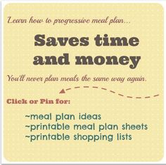 This is a method of meal planning I have been using for months and it saves me a ton of money. No more wasted food being tossed into the trash, and I spend less time in the kitchen. Includes free printables.