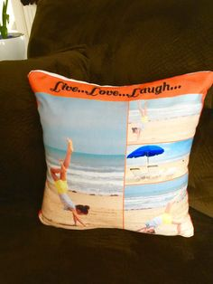Pillowgram from Collage.com   #Collagedotcom #PhotoPillows