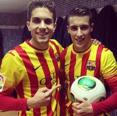 Marc Bartra & Cristian Tello