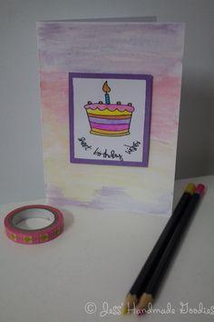 I Card, Handmade, Hand Made, Handarbeit