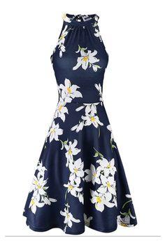Halter Sundress, Floral Sundress, Halter Neck, Wedding Sundress, Wedding Dresses, Prom Dresses, Plus Size Maxi Dresses, Short Sleeve Dresses, Sleeveless Dresses