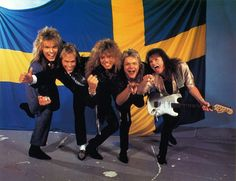 Europe is a Swedish rock band formed in Upplands Väsby in by vocalist Joey Tempest, guitarist John Norum, bass guitarist Peter Olsson, and drummer Tony Reno. Europe Band, Europe Europe, Jimi Jamison, Poodle Hair, Meaningful Lyrics, The Final Countdown, 80s Hair Bands, Joey Tempest, Music Is My Escape