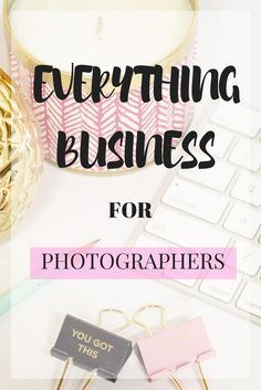 Everything business for photographers