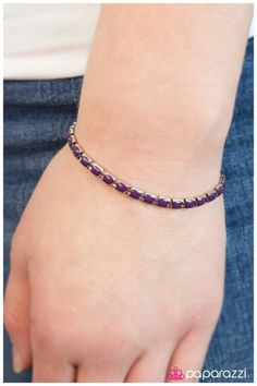 Sweet Sangria - purple bracelet