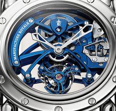Manufacture Royale Androgyne Royale Skeleton Tourbillon - detail - Perpetuelle