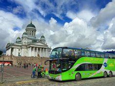 Nur einen Tag Zeit für Helsinki? Wir zeigen, wie man mit dem Hop-On Hop Off Bus alle Sehenswürdigkeiten im Kurzurlaub entdecken kann!