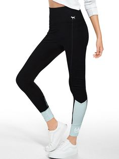 128eb11d87 Cotton High-Waisted Legging - Victoria's Secret Vs Leggings, Leggings  Fashion, Sports Leggings