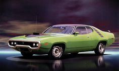 1971 Plymouth Road Runner ~ Sharp grille!