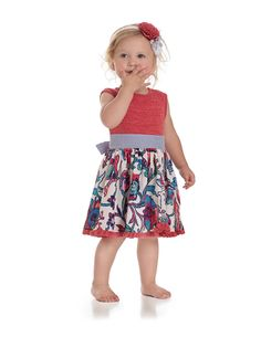 Cassie Tunic available in size 3-6m up to 10. Little ones love this lightweight twirly dress for play and church.