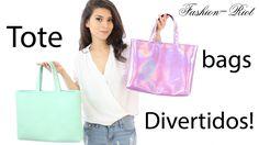 DIY Haz un Bolso para el regreso a clases (Tote Bag) | Fashion Riot