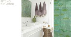 Moods | Natural Curiosities - love this bathroom!